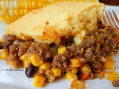 This Easy Tex Mex Bake has turned into a favorite meal. Flavorful ground beef to… This Easy Tex Mex Bake has turned into a favorite meal. Flavorful ground beef topped with corn bread makes an easy casserole even the kids will love! Beef Casserole Recipes, Ground Beef Casserole, Meat Recipes, Mexican Food Recipes, Cooking Recipes, Top Recipes, Mexican Dishes, Cornbread Casserole, Party