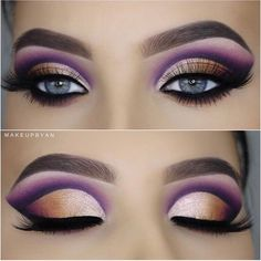 When it comes to eye make-up you need to think and then apply because eyes talk louder than words. The type of make-up that you apply on your eyes can talk loud about the type of person you really are. Maquillage Yeux Cut Crease, Maquillage On Fleek, Gorgeous Makeup, Love Makeup, Makeup Inspo, Makeup Ideas, Makeup Designs, Makeup Geek, Makeup Kit