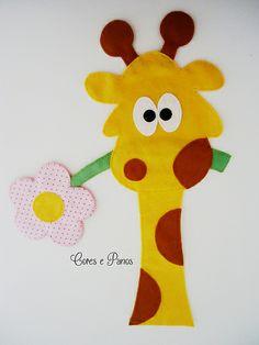 Aplique girafinha