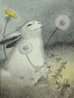 The Wood Between  Garth Williams, The Rabbit's Wedding