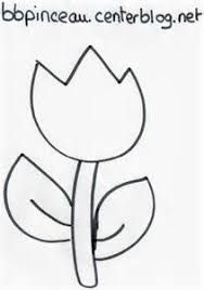 Resultado de imagem para gabarit fleur