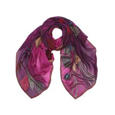 FW15 At The Top Of A Tree silk scarf, Marja Kurki collection, Finland