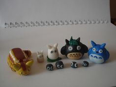 Fantasía Ghibli. Figuras en Porcelanicron