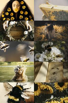 the bee keeper > honey sweet sting > wild flowers and nature > yellow tones coll… – pictures world Wiccan, Magick, Witchcraft, Witch Aesthetic, Aesthetic Collage, Blue Aesthetic, Aesthetic Anime, Aesthetic Pictures, Model Tips