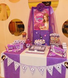 Violetta Disney Candy Bar by Violeta Glace