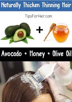 How To Naturally Thicken Thinning Hair #Beauty #Trusper #Tip