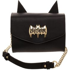 Bioworld Batman Side Kick Crossbody Bag (£5.00) ❤ liked on Polyvore  featuring bags 061b1a9cf494a