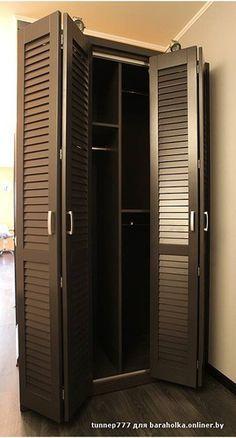 Wardrobe Door Designs, Wardrobe Doors, Closet Designs, Grill Door Design, Diy Home Bar, Closet Door Makeover, Casa Patio, Hallway Furniture, Small Bedroom Designs