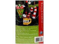 Dimensions Felt Kit Sweet Treat Christmas Ornaments, Embroidery