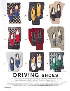 Driving shoes - gq magazine