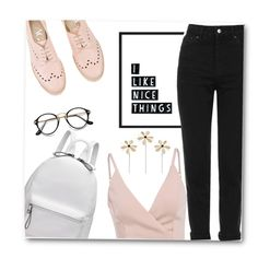 Nice, fancy shoes? Teach me how to style them pls by do-dorina on Polyvore featuring Topshop and Attilio Giusti Leombruni