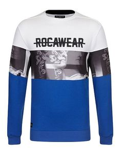 1c6968c305d5 Shop for Men's Baltic Embellished Crew Neck Sweatshirt by Rocawear at  ShopStyle.