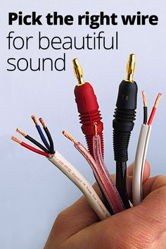 Simple straightforward guidance on finding the right speaker wire speaker wire how to choose the right gauge and type home theater keyboard keysfo Choice Image