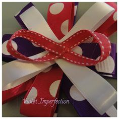 Violet Imperfection: Boutique Bow Tutorial