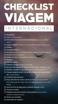 Travel Checklist, Travel List, Travel Packing, Travel Essentials, Europa Tour, Travel English, Travelling Tips, Traveling, Learn English Words