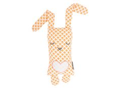 retro oranje konijn - sierkussentje | Tis Lifestyle: the official website