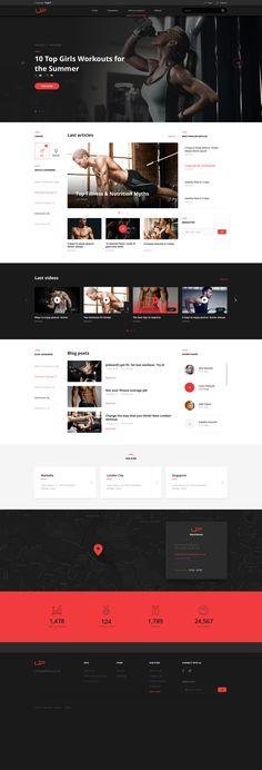 Dribbble - homepage_desktop.jpg by Michal Parulski
