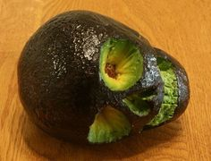 Avocado skull! Put it in the dip maybe?