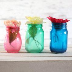 21 Summer Inspired mason jar crafts
