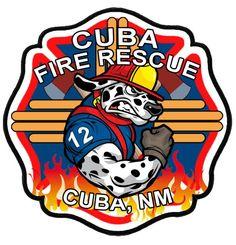 Cuba Fire Department Logo