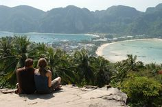 Things to do/see on Koh Phi Phi island hike to Phi Phi lookout, Maya Bay, Coconut Doughnuts, Cheap Buckets