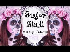 Romantic Sugar Skull Makeup Tutorial ( Day of The Dead / Dia de Los Muertos) #sugarskull #sugarskullmakeuptutorial #sugarskullmakeup #skull #skullmakeup #skullmakeuptutorial #skullbodypainting #halloween #halloweenmakeuptutorial #halloween2013makeuptutorial #makeuptutorial #pinksugarskull #romanticsugarskull #bluesugarskull #purplesugarskull #diadelosmuertos #dayofthedead #thebestsugarskull #theperfectsugarskull #aloserlikeme #serenaloserlikeme
