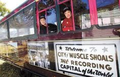 """""""Getting on board - Swampette tour gains following aboard trolley"""" via TimesDaily.com by @Wayne Smith"""
