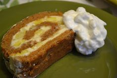 Carrot Cake With Pineapple and Cream Cheese filling