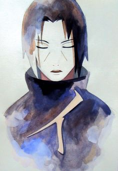 Uchiha Itachi - Naruto, by Demiora on deviantART. Itachi Uchiha, Gaara, Hinata, Naruto E Boruto, Sasunaru, Anime Guys, Manga Anime, Anime Art, Art Naruto