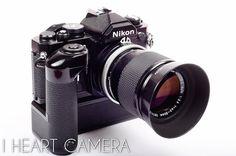 Nikon fm with md 12