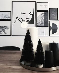 weinahten In case you're not on In case you're not on Black Christmas Decorations, Black Christmas Trees, Fabric Christmas Trees, Colorful Christmas Tree, Christmas Tree Themes, Modern Christmas, Christmas Home, Holiday Decor, Xmas