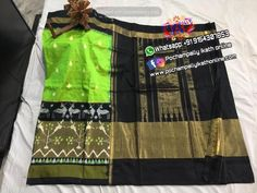 Ikkat Silk Sarees, Indian Designer Wear, Cotton Saree, Ikat, How To Wear, Stuff To Buy, Pure Silk