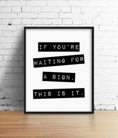Motivational Quote Black and White Art Inspirational Poster Typography Poster Minimal Typography Minimal Wall Art Modern Office Poster Weisheiten & Zitate Lettering, Typography Prints, Typography Poster, Typography Design, Inspirational Posters, Motivational Quotes, Art Blanc, Printable Poster, Printable Quotes