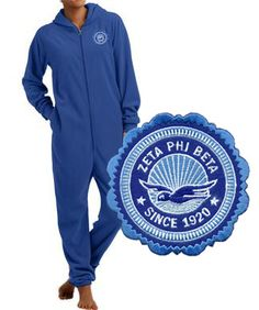 Zeta Phi Beta Fleece Lounger SALE $29.95. - Greek Clothing and Merchandise - Greek Gear®