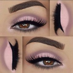 Makeup Goals, Love Makeup, Makeup Inspo, Makeup Inspiration, Makeup Tips, Makeup Ideas, Neutral Makeup, Easy Makeup, Sleek Makeup
