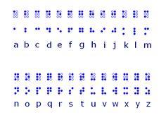 alphabet braille