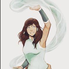 The largest community of Avatar: legend of Aang and Korra Korra Avatar, Team Avatar, The Legend Of Korra, Percy Jackson Fanart, Korra Comic, Fan Art Anime, Avatar World, Art Disney, Avatar Series