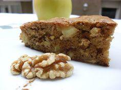 Cocinando con las Bollis: BIZCOCHO DE GALLETAS Y MANZANA