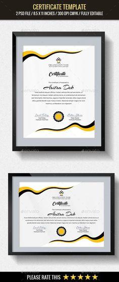 Corporate Certificate (7) Pinterest Certificate, Stationery - corporate certificate template