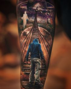Color tattoo by Yomico Art