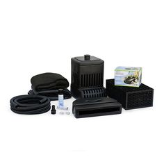 The Aquascape DIY Backyard Waterfall Kit provides you with everything you need to build your own beautiful backyard waterfall. This convenient kit contains. Water Feature Kits, Backyard Water Feature, Pond Landscaping, Landscaping With Rocks, Waterfall Landscaping, Backyard Waterfalls, Garden Waterfall, Backyard Ponds, Backyard Patio