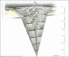 超「深」層ビル、地下300mの巨大な建築物 - GIGAZINE