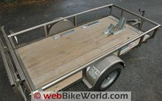Diamond C Motorcycle Trailer Review - webBikeWorld