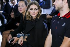 Olivia Palermo - Dior SS18 Show Front Row - September 25 2017 #pfw