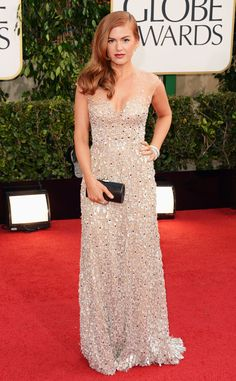 Isla Fisher from 2013 Golden Globes: Arrivals | E! Online