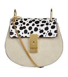 Small Ponyskin Drew Shoulder Bag by: Chloé