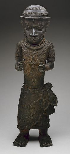 Nigeria - Edo Standing Male Court Official (Metropolitan Museum of Art, NYC)   Flickr - Photo Sharing!