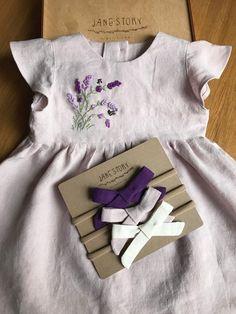 Little Girl Outfits, Little Girl Dresses, Kids Outfits, Baby Girl Fashion, Fashion Kids, Baby Embroidery, Girl Dress Patterns, Baby Kids Clothes, Baby Sewing