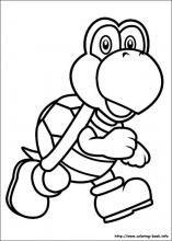 Super Mario Bros. coloring pages