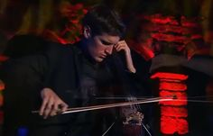 Where the Streets Have No Name...on cello. Dude. And when the audience starts to sing...